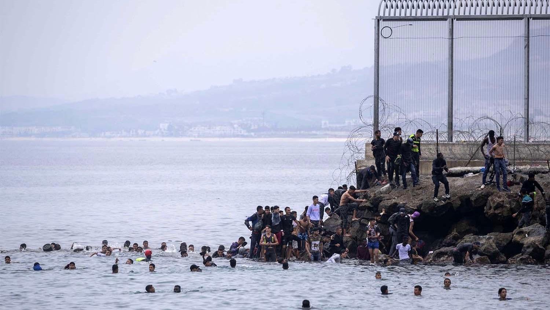 Moroccan migrants in Spain
