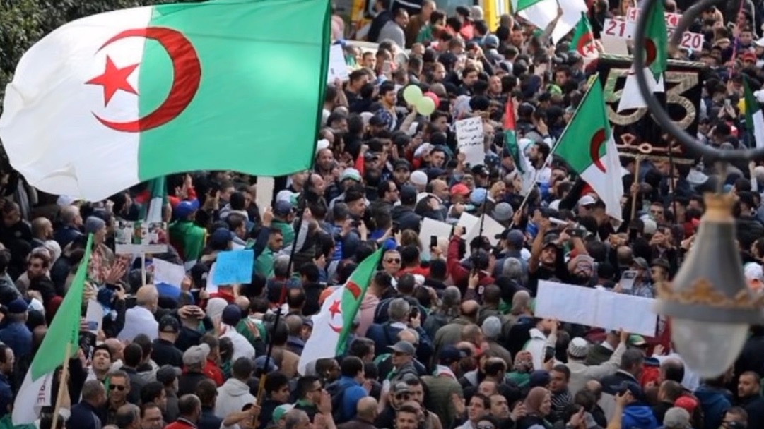 Hirak movement Algeria