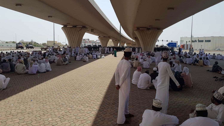Oman protest