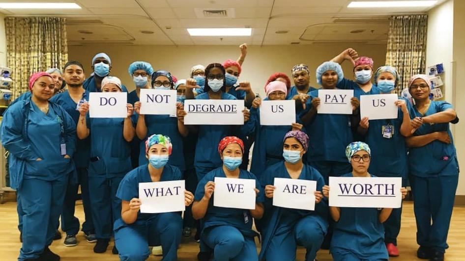 Nurses strike New Zealand
