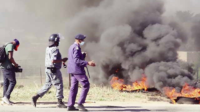 Swaziland protests