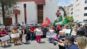 Womens protest-Cyprus