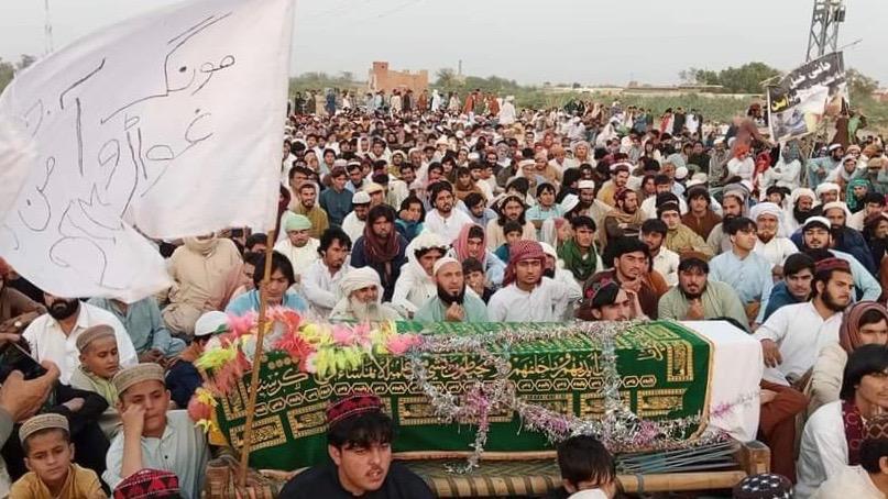 Janikhel tribesmen protest Pak