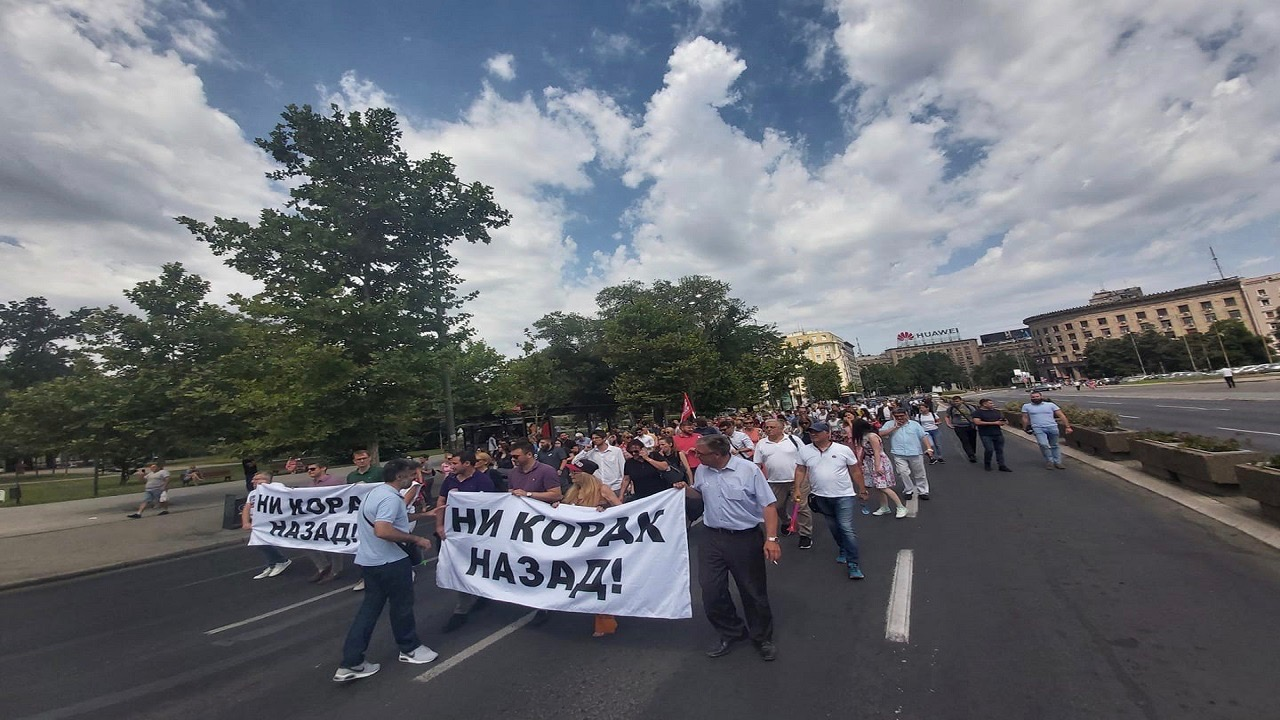 Lawyers Protest-Serbia