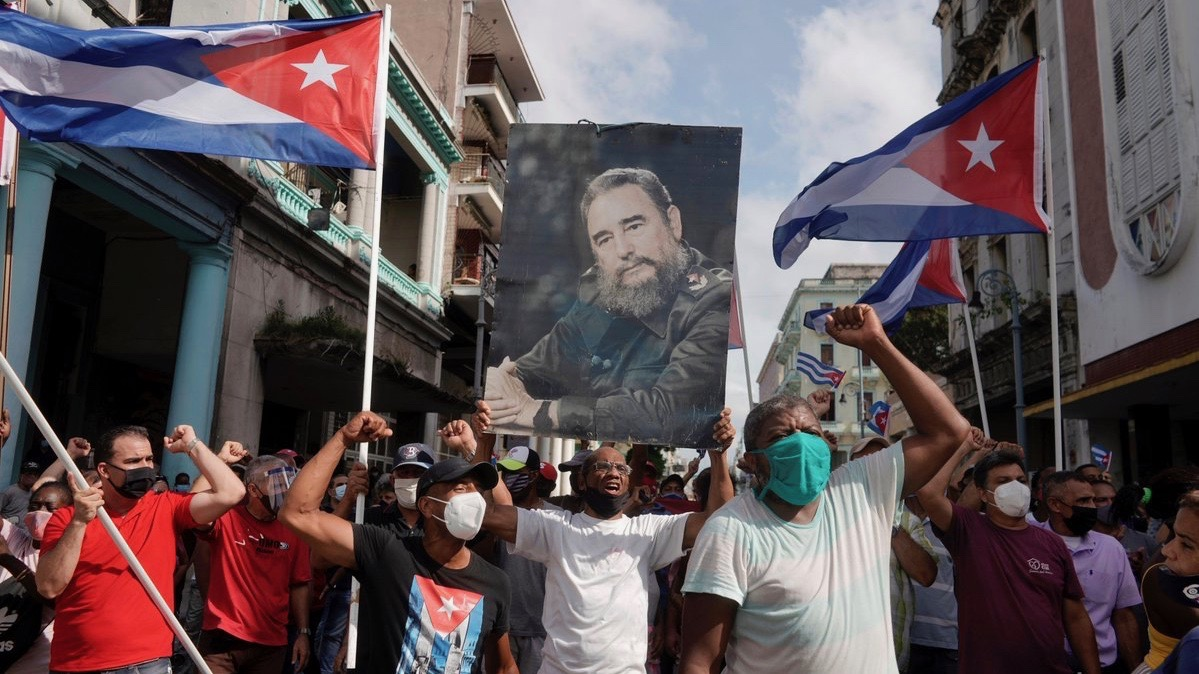 If You Grew Up With the U.S. Blockade as a Cuban, You Might Understand the Recent Protests Differently