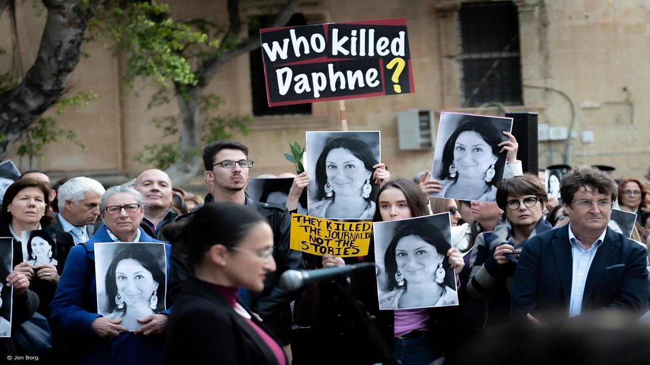 Murder of Journalist - Malta