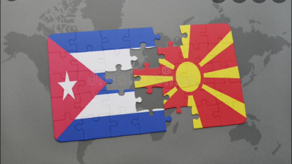 Leftists solidarity with Cuba-North Macedonia