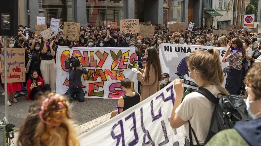 Women's Protest - Switzerland