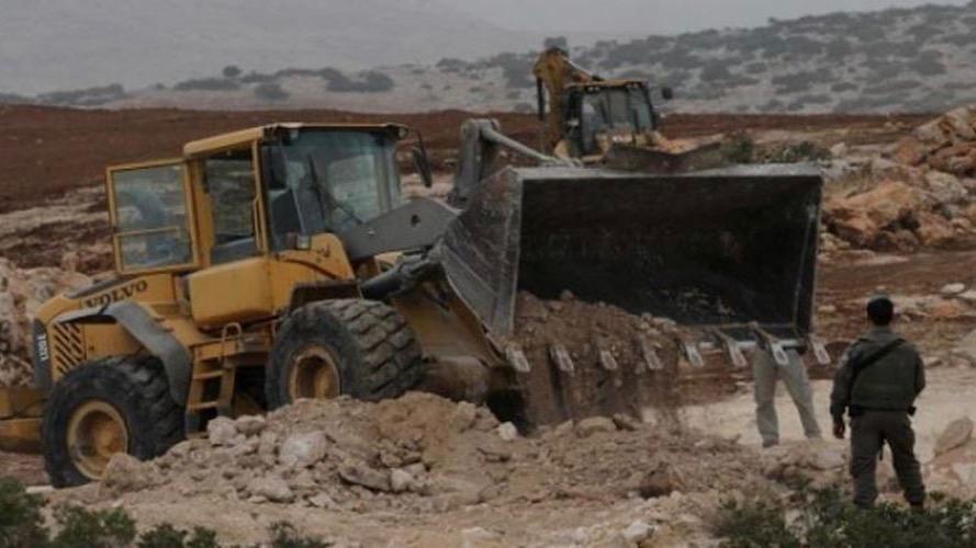 Palestinian property demolished
