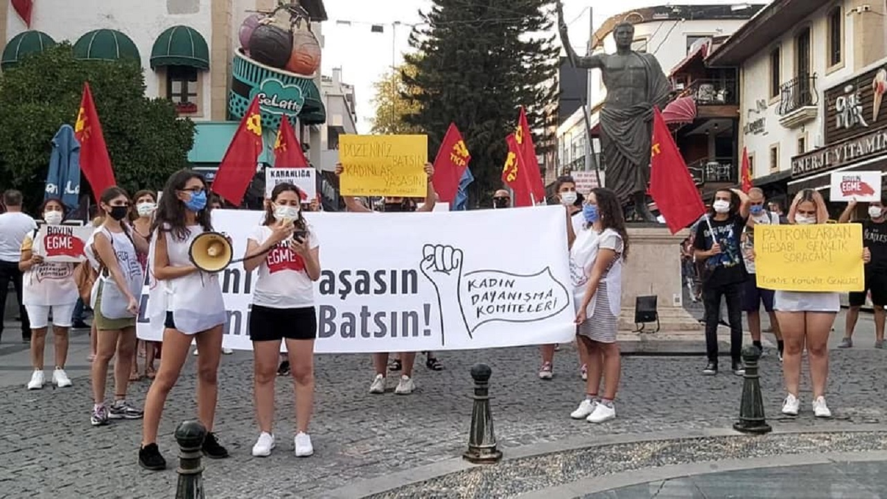 Womens Protest-Turkey