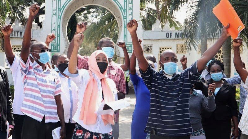 Professors strike Kenya