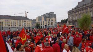 Persecution of trade unionists - Belgium