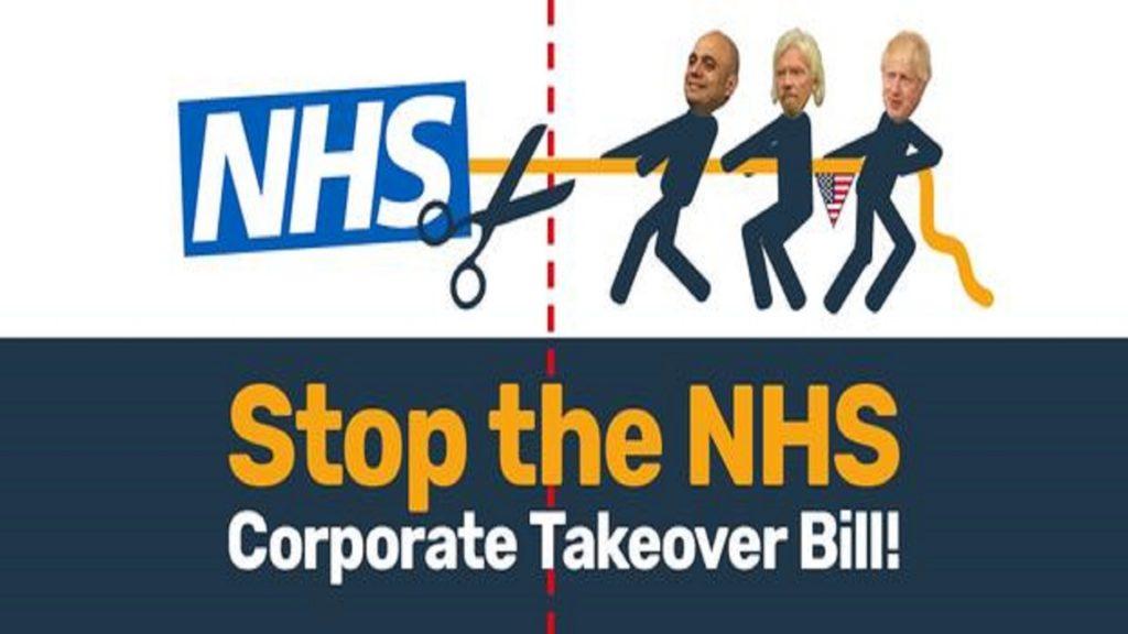 UK healthcare bill