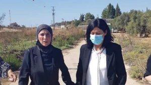 Khalida Jarrar released