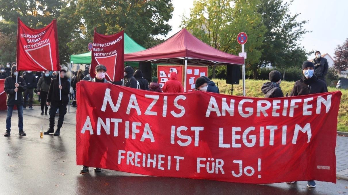 Antifa protest-Germany