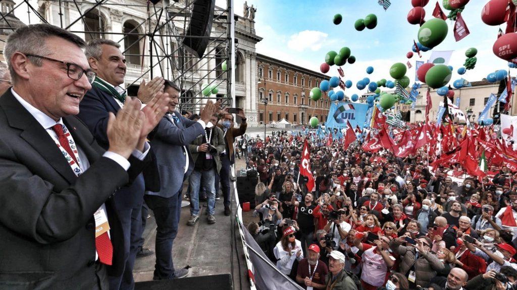 Anti-fascist rally - Italy