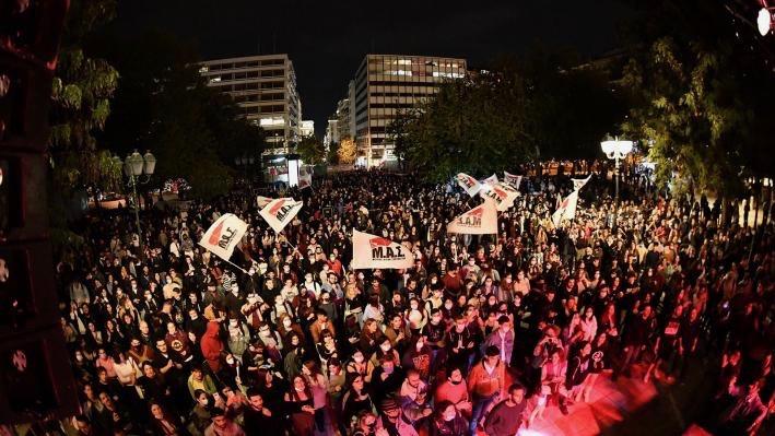 Anti-fascist Protests-Greece