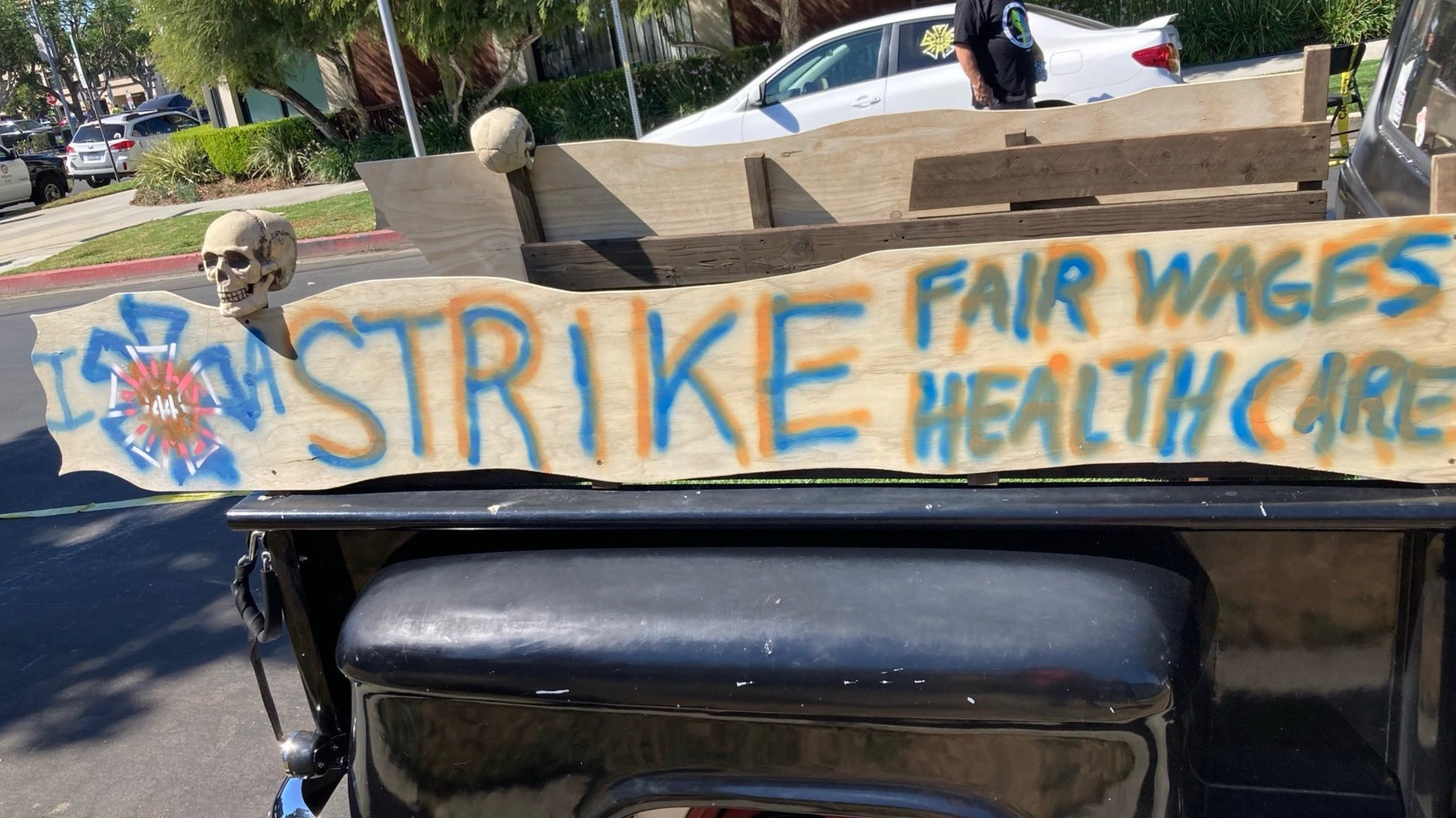 US Hollywood strike