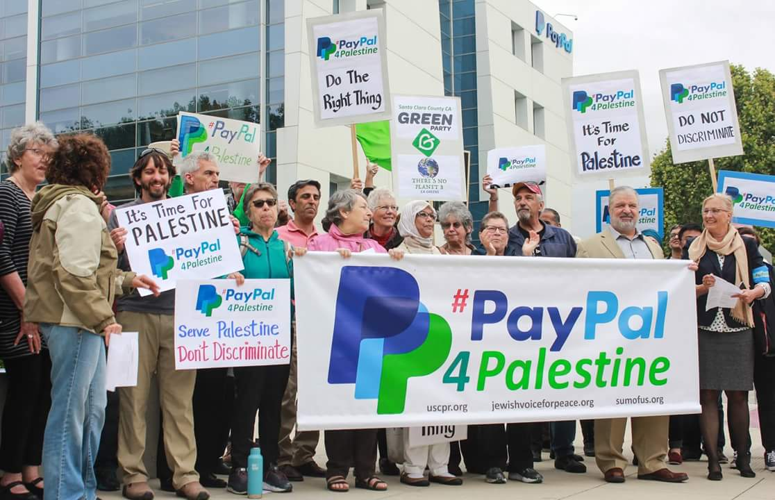 PayPal in Palestine